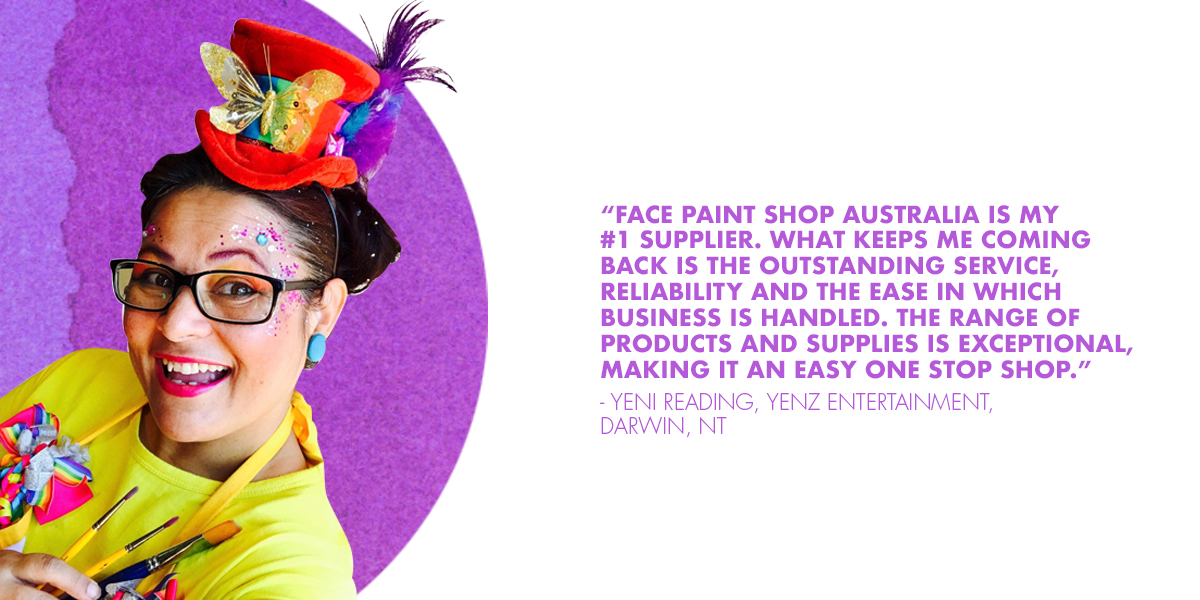 Face Paint Shop Australia review